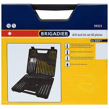 <b>Набор свёрл</b> универсальный 60 шт. Brigadier 39321 , 1-22 мм в ...