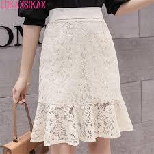 LUKAXSIKAX Fashion <b>2019 Summer</b> Women Skirt <b>High Quality</b> ...