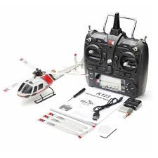 <b>XK K123 6CH</b> Brushless AS350 Scale RC Helicopter RTF Mode 1&2