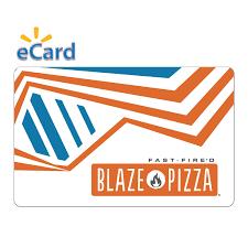 Blaze Pizza $25 Gift Card (Email Delivery) - Walmart.com - Walmart ...