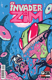 Image result for INVADER ZIM #2  comic book 2015