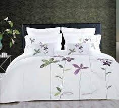 Embroidered Floral Duvet Cover Set | Спальня, Покрывало ...