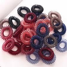 <b>5pcs</b>/<b>lot</b> Handmade knot Elastic <b>Rubber Bands</b> Headwear Women ...