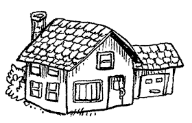 Small Picture Coloring Pages Houses 7927