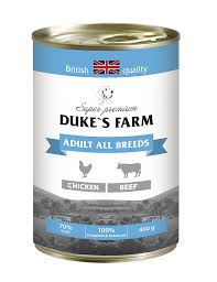 Корма для собак <b>DUKE'S</b> FARM