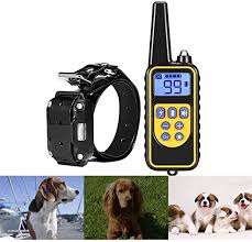 SFLMK Waterproof Pet Dog Cat Collar Rechargeable ... - Amazon.com