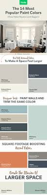 make any room look bigger with these 14 most popular paint colors bonus tip amazing living room color