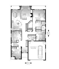Hacienda Mediterranean Home Plan D    House Plans and MoreRanch House Plan First Floor   D    House Plans and More