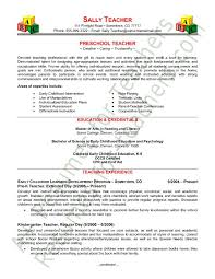 preschool teacher resume sample   page    keep life creative    preschool teacher resume sample   page