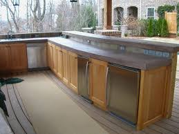 Countertop For Outdoor Kitchen Outdoor Kitchen Countertop Material Luxury Outdoor Kitchen Bar