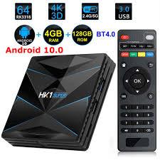 <b>HK1 Super</b> Android 10 <b>TV</b> BOX Rockchip RK3318 4GB RAM 128G ...