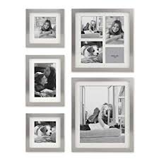 Buy Stonebriar Decorative Stamped Silver <b>5 Piece</b> Photo Frame Set ...
