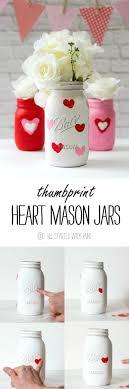 mason jar paint aa mason jar craft ideas for valentines day painted distressed mason jars