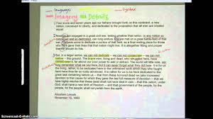 gettysburg address analysis gettysburg address analysis