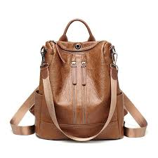 <b>Vintage Women PU Leather</b> Large Bags Shoulder Handbag Travel ...