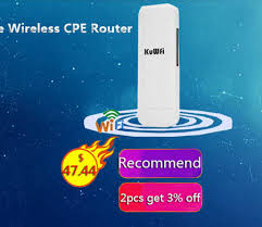 Online Shop <b>KuWFi Unlocked</b> 150Mbps <b>4G LTE</b> Wifi CPE Router ...