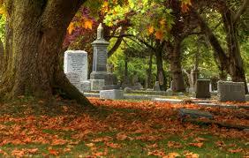 Risultati immagini per autumn cemetery