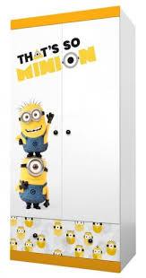 "<b>Шкаф двухсекционный Polini kids</b> Fun 890 ""Миньоны"", желтый ..."