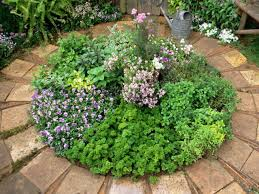 Small Picture Small Round Herb Garden Design With Herb Garden Design Ideas