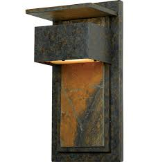 quoizel  zpmd  zephyr muted bronze outdoor wall sconce