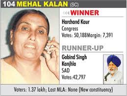 ... MEHAL KALAN (SC) - Harchand Kaur - 104-mehal-kalan