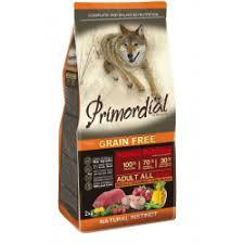 Отзывы о <b>Сухой корм Primordial</b> для собак с буйволом и макрелью