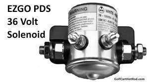 ezgo pds solenoid wiring diagram to solve problems cart ezgo pds 36 volt solenoid