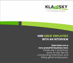 klawsky consulting resources case study 12% material handler turnover for 8 consecutive years