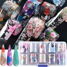Plastic Holographic Nail Art Stickers for sale | eBay