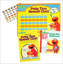 Elmo's Potty Time Book and Reward Chart: Ltd. Editors of ...