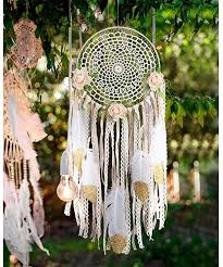 AerWo Boho Dream Catcher for Bedroom, Handmade ... - Amazon.com