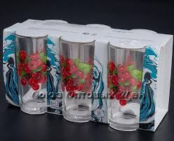 <b>Набор стаканов 6</b> шт 230 мл Красная смородина 05с1256 ...
