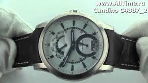 <b>Мужские</b> наручные швейцарские <b>часы Candino</b> C4387_2 - YouTube