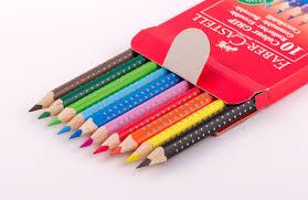 Набор <b>Faber</b>-<b>Castell Grip</b> 2001 (<b>10</b> цветных <b>карандашей</b>) 116613 ...