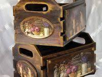 7 Best crates images in 2020 | Decoupage box, Decoupage vintage ...