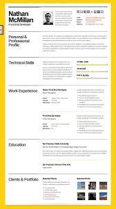 great html cv resume templates   template   idesignowbold   cv