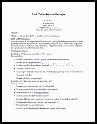 teller resume examples   alexa resumeteller resume examples