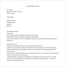 employee resignation letter templates – free sample  example    unhappy employee resignation letter sample word free download