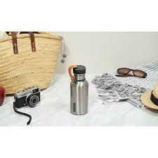 <b>Фляга Water Bottle</b> 500 мл сталь-бирюза от <b>Black</b>+<b>Blum</b> (арт. BAM ...