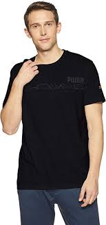 PUMA Men's N.r.g.<b>triblend Graphic Tee</b> T-Shirt: Amazon.co.uk ...