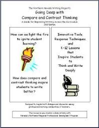 images about compare  amp  contrast writing on pinterest   essay    writingfix  comparing contrasting    writing  across the curriculum