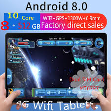 <b>2020 new original</b> Android8.0 tablet 8 + 512GB large memory <b>10.1</b> ...