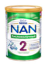 """<b>Сухая кисломолочная смесь</b> """"<b>NAN</b> кисломолочный 2"""" с ..."""