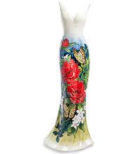 Фарфоровые изделия из серии Цветы