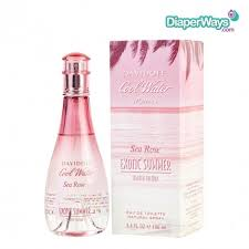 <b>DAVIDOFF COOL WATER</b> WOMAN SEA ROSE <b>EXOTIC</b> SUMMER ...