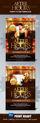 after hours party flyer template by themediaroom graphicriver after hours party flyer template clubs parties events
