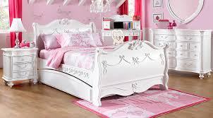 Princess Room Furniture Disney Princess White 5 Pc Twin Sleigh Bedroom Girlsu0027 Sets Room Furniture Rooms To Go Kids