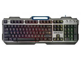 <b>Клавиатура</b> игровая <b>Defender Assault GK</b>-<b>350L</b> металл с ...