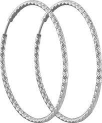 Серебряные <b>серьги кольца</b> конго <b>SOKOLOV</b> 94140032_s ...