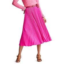 <b>Юбка</b>-миди <b>плиссированная</b> розовый Polo Ralph Lauren | <b>La</b> ...